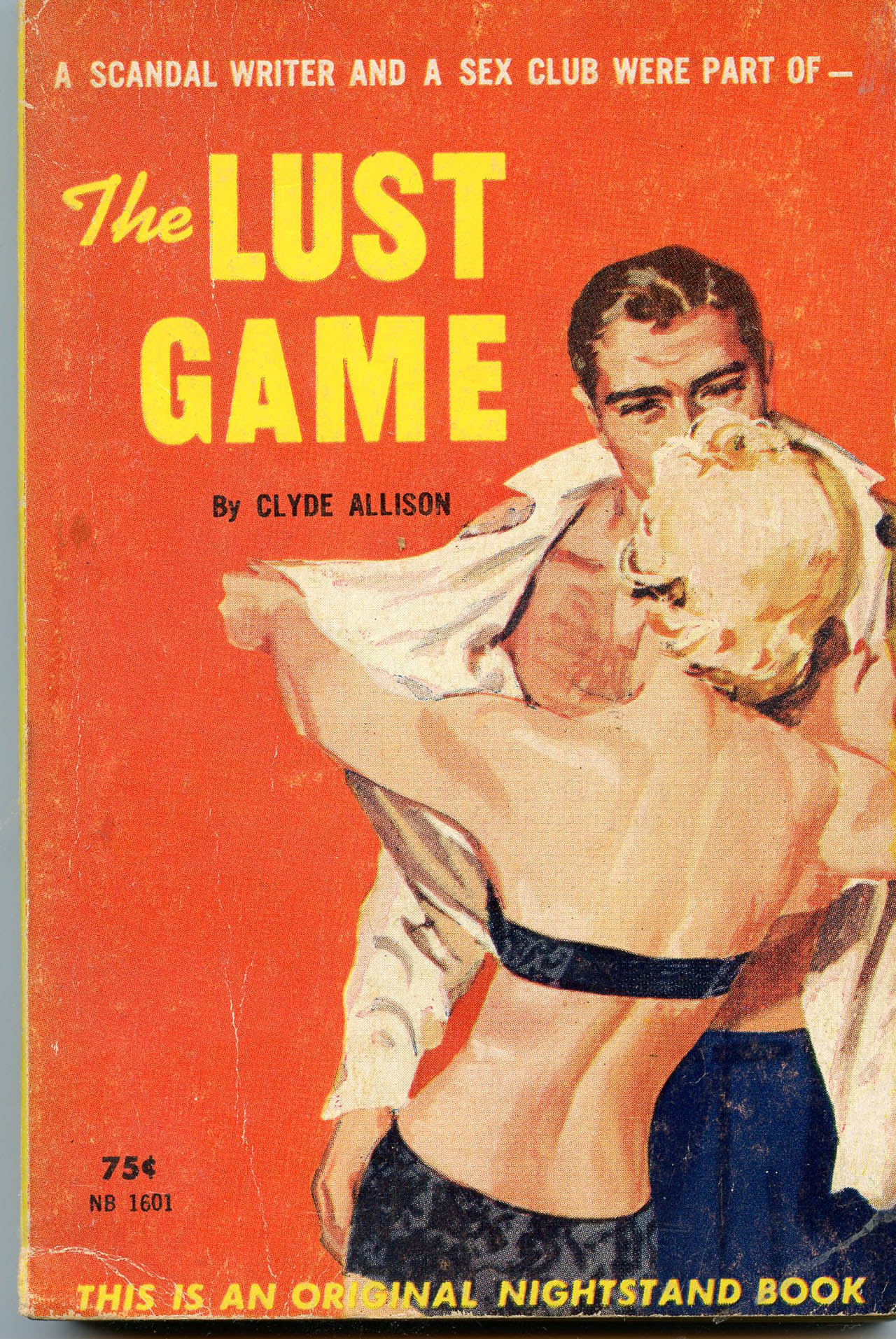 Image for The Lust Game