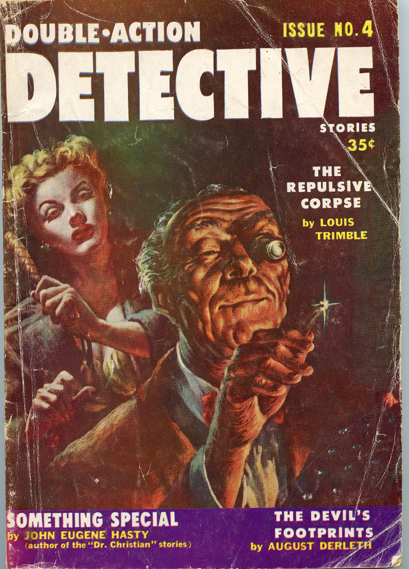 Image for Double-Action Detective Issue No. 4