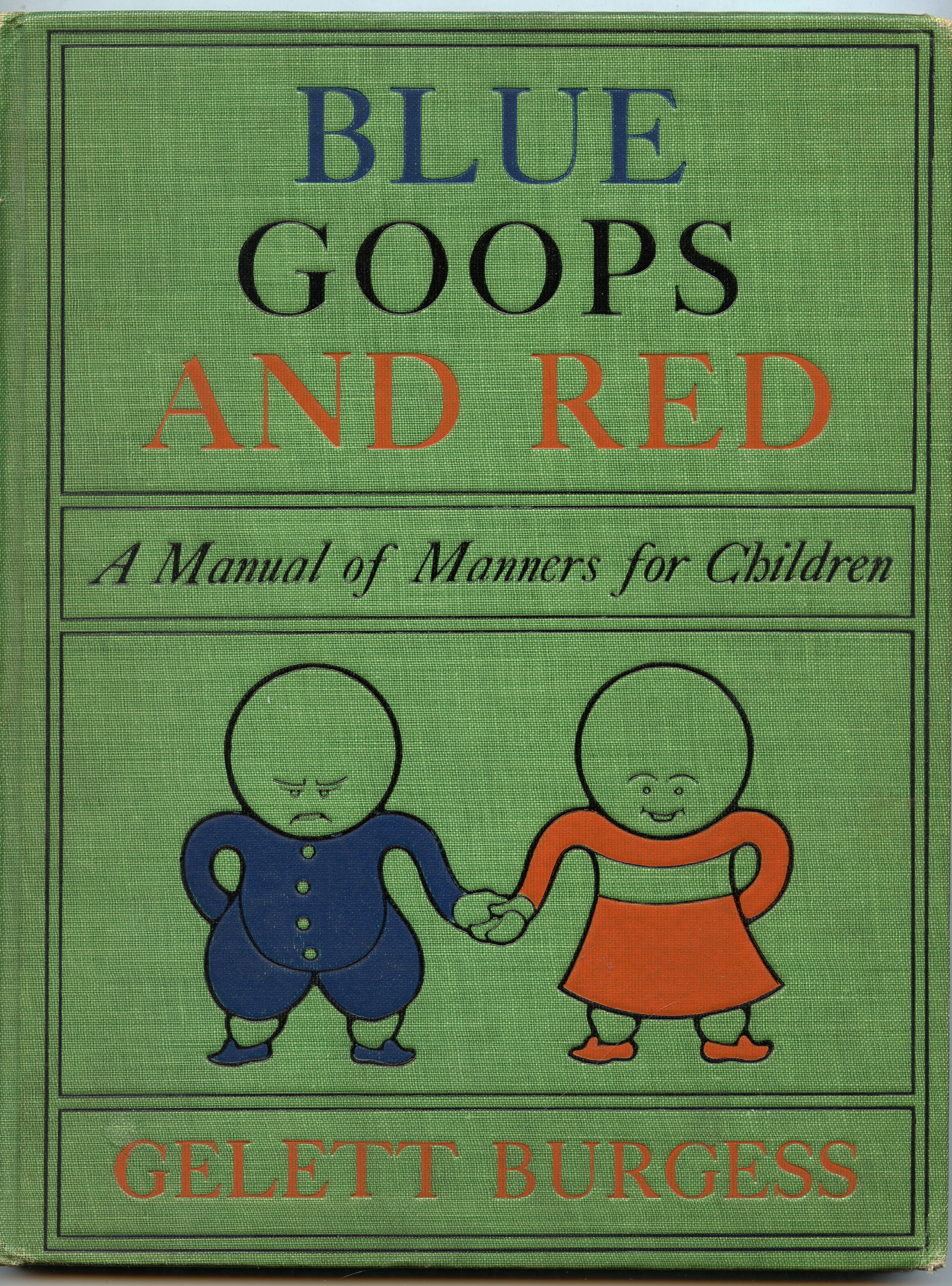 Blue Goops and Red