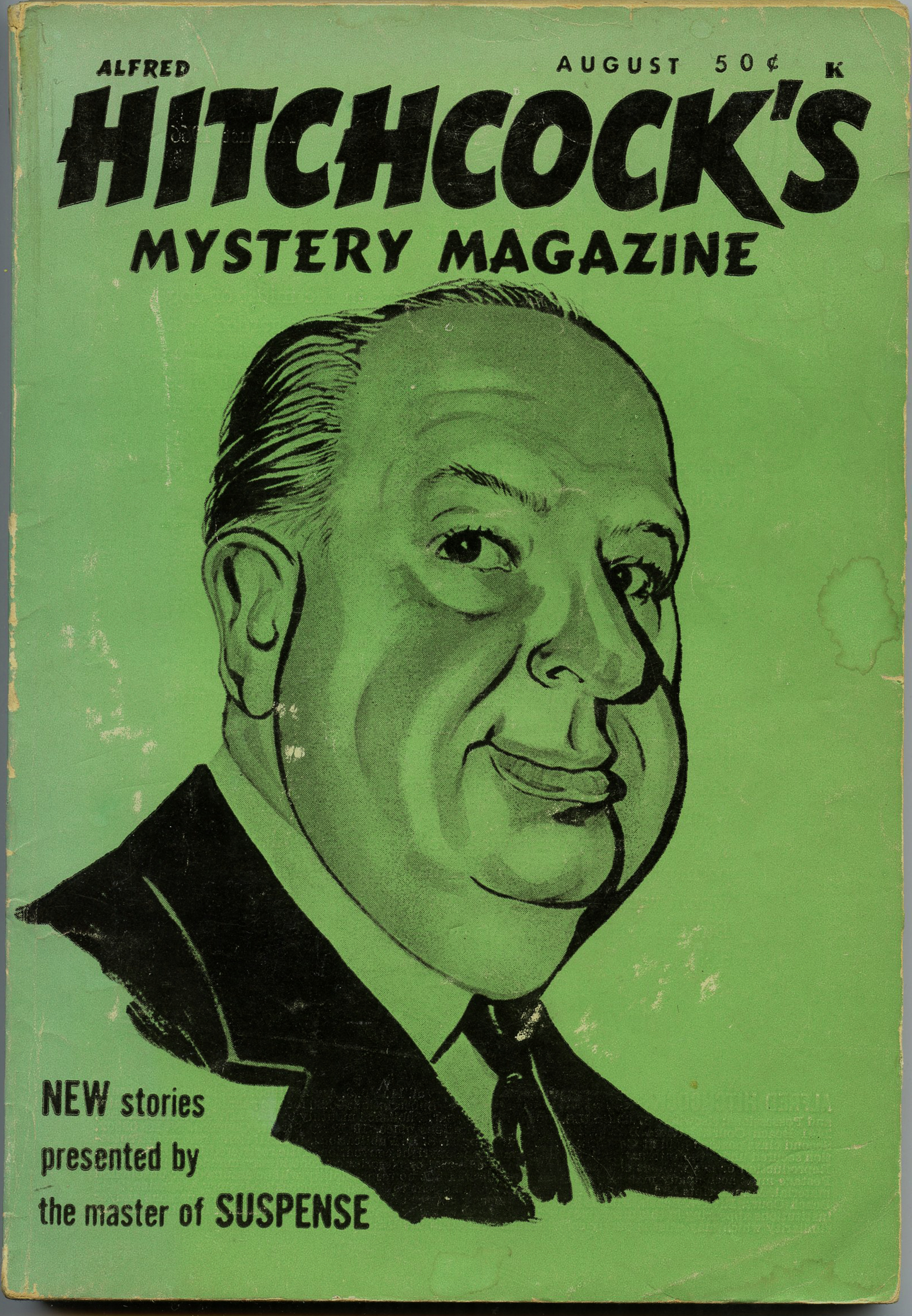 Image for Alfred Hitchcock's Mystery Magazine August 1966