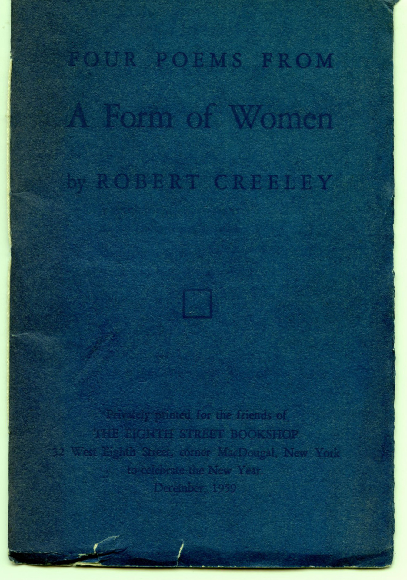 Image for Four Poems from A Form of Women