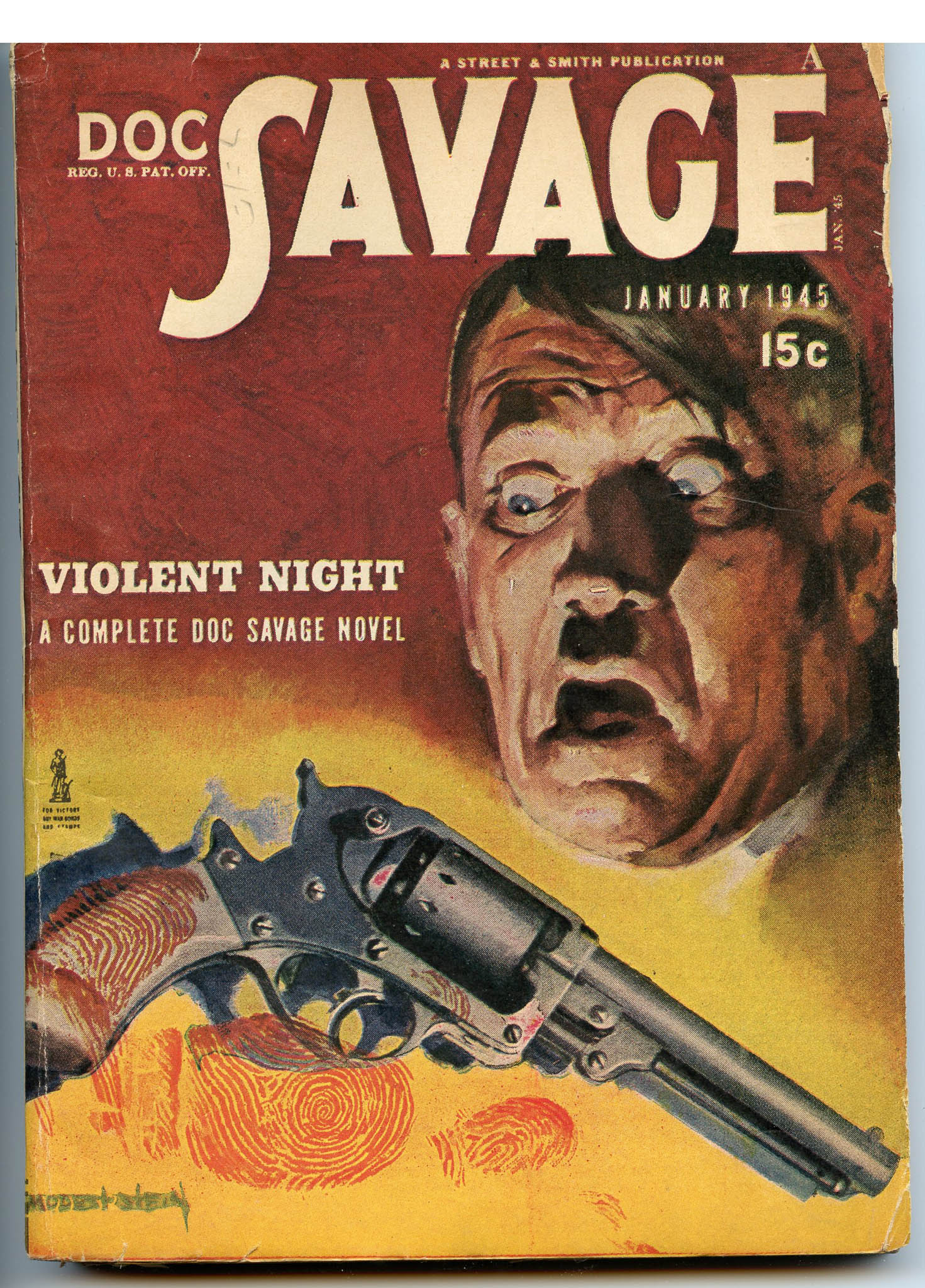 Image for Doc Savage January 1945