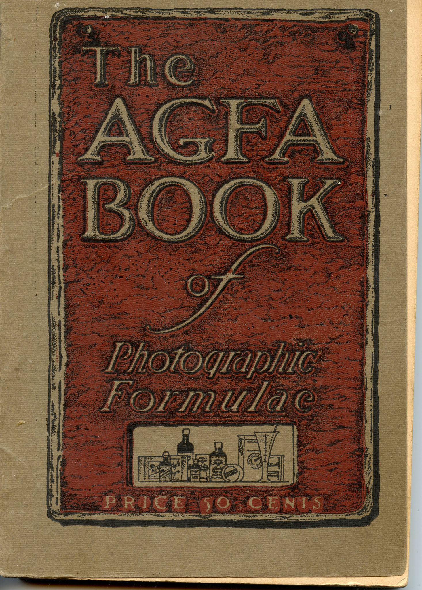 Image for The AGFA Book of Photographic Formulae