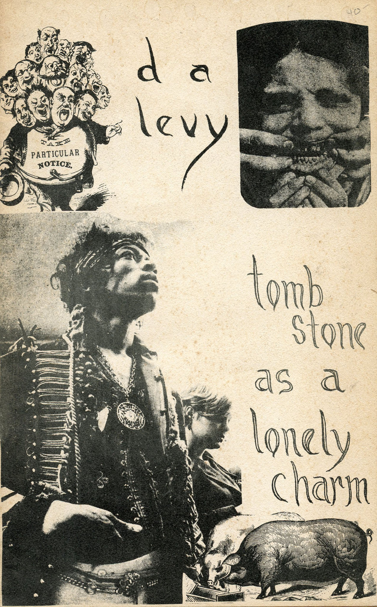 Image for tomb stone as a lonely charm