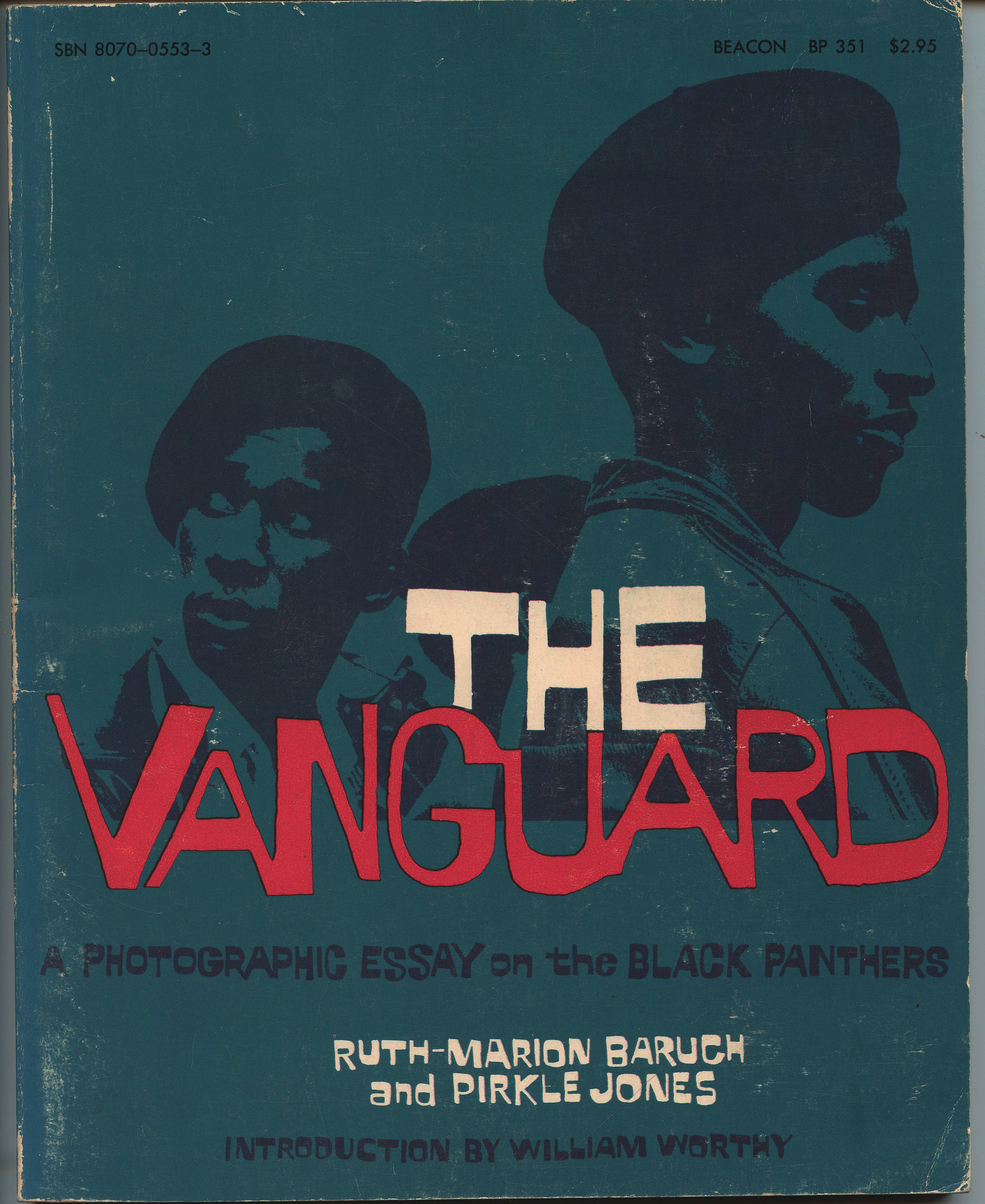 Image for The Vanguard: A Photographic Essay on the Black Panthers